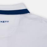 Мужское поло Hackett Number Classic White фото- 4