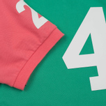 Мужское поло Hackett Numbered Multi Navy/Green/Yellow/Pink фото- 4