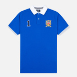 Hackett Panel Men's Polo Bright Blue photo- 0
