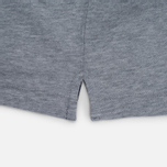 Мужское поло Hackett Tailored Logo Grey Marl фото- 3