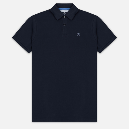Hackett Tailored Logo Men's Polo Navy