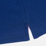 Мужское поло Hackett Tip Solid French Blue фото- 4