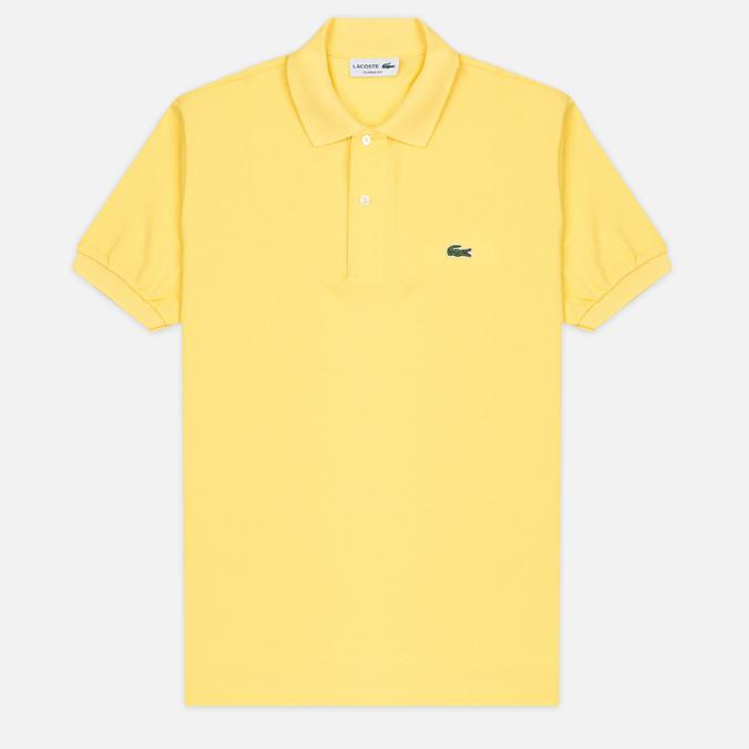 Мужское поло Lacoste L 12.12. Sunny Yellow