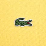 Мужское поло Lacoste L 12.12. Sunny Yellow фото- 3