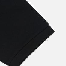 Мужское поло Lacoste Live Loose Fit Signature Cotton Pique Black/White фото- 3