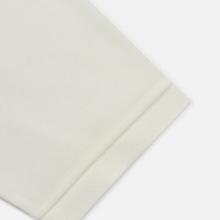 Мужское поло Lacoste Live Loose Fit Signature Cotton Pique White/Green фото- 3