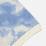 Мужское поло Lacoste Live Regular Fit Cloud Print Geode/Atmosphere фото- 3