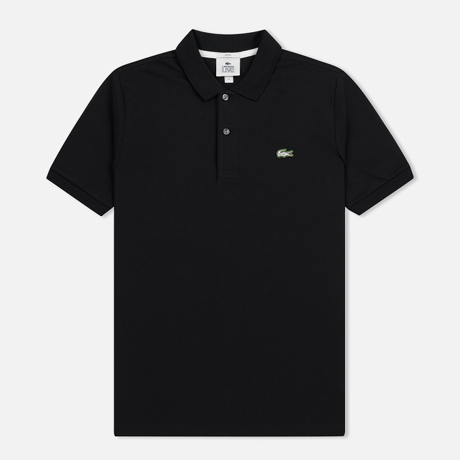 Мужское поло Lacoste Live Slim Fit Petit Pique Black