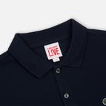 Мужское поло Lacoste Live Ultra Slim Fit Petit Pique Navy фото- 1