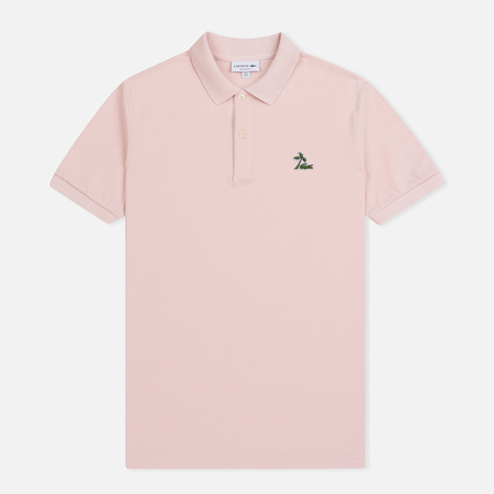 Мужское поло Lacoste Regular Fit Palm Tree Croc Nidus