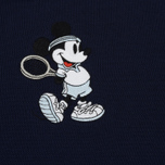 Мужское поло Lacoste x Disney Embroidered Mickey Mouse Navy фото- 2