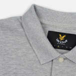 Мужское поло Lyle & Scott Pique Jersey Light Grey Marl фото- 1