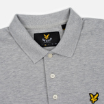 Мужское поло Lyle & Scott Pique Jersey Light Grey Marl фото- 2
