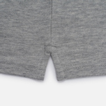 Мужское поло Lyle & Scott Pique Jersey Light Grey Marl фото- 4