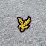 Мужское поло Lyle & Scott Pique Jersey Light Grey Marl фото- 3