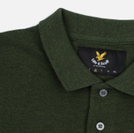 Мужское поло Lyle & Scott Marl Pique Jersey Regular Fit Dark Sage Marl фото- 1