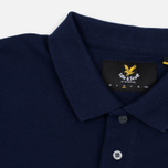 Мужское поло Lyle & Scott Plain Pique Jersey Regular Fit Navy фото- 1