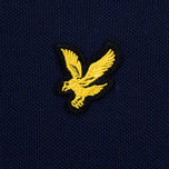Мужское поло Lyle & Scott Plain Pique Jersey Regular Fit Navy фото- 3