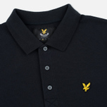 Мужское поло Lyle & Scott Pique Jersey True Black фото- 1