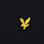 Мужское поло Lyle & Scott Pique Jersey True Black фото- 2