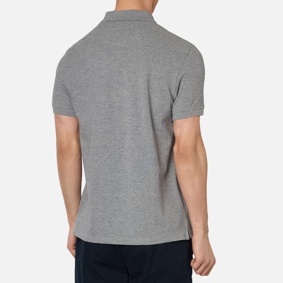 Мужское поло Lyle & Scott Plain Classic Style Mid Grey Marl