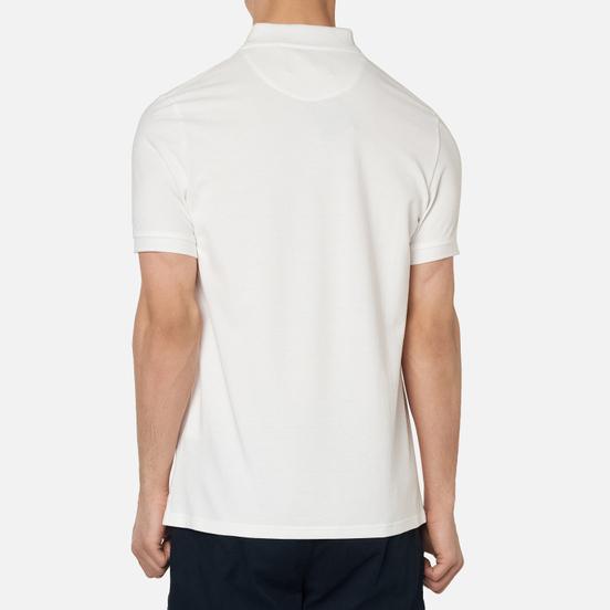 Мужское поло Lyle & Scott Plain Classic Style White