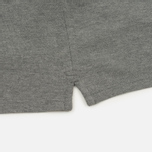 Мужское поло Lyle & Scott Plain Pique Jersey Regular Fit Mid Grey Marl фото- 4