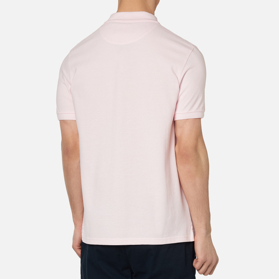Мужское поло Lyle & Scott Plain Pique Jersey Regular Fit Strawberry Cream