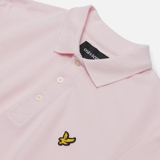 Мужское поло Lyle & Scott Plain Pique Jersey Regular Fit Strawberry Cream