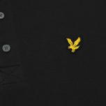 Мужское поло Lyle & Scott Plain Pique Jersey Regular Fit True Black фото- 2