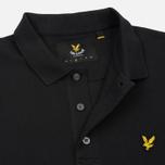 Мужское поло Lyle & Scott Plain Pique Jersey Regular Fit True Black фото- 3