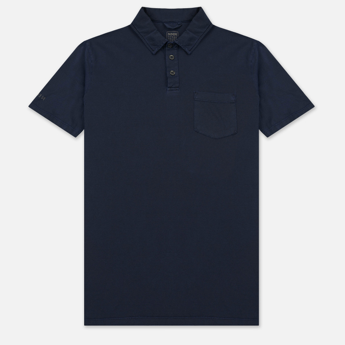 Мужское поло Nemen Cotton Mako Deep Navy