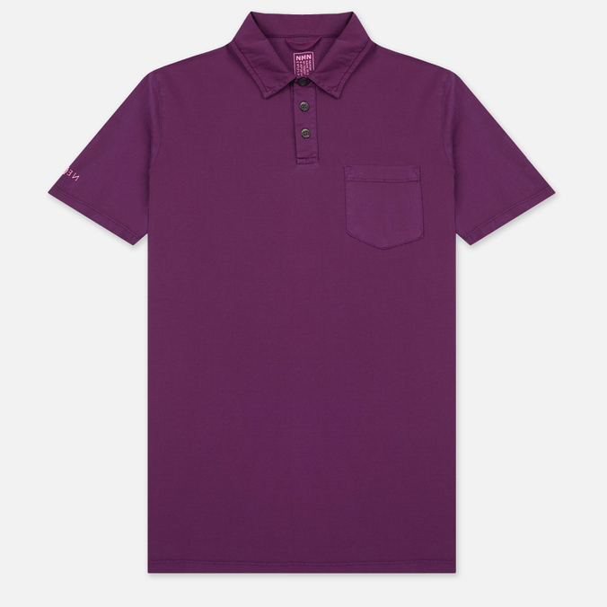 Мужское поло Nemen Cotton Mako Deep Purple
