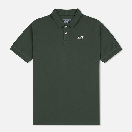 Peaceful Hooligan Steward Men's Polo Khaki