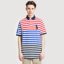 Мужское поло Polo Ralph Lauren All Over Stripe Aviator Navy/Multicolor фото- 1