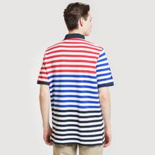 Мужское поло Polo Ralph Lauren All Over Stripe Aviator Navy/Multicolor фото- 3