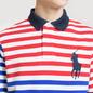 Мужское поло Polo Ralph Lauren All Over Stripe Aviator Navy/Multicolor фото - 2