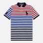 Мужское поло Polo Ralph Lauren All Over Stripe Aviator Navy/Multicolor фото - 0
