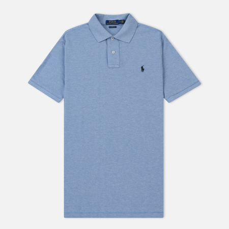Мужское поло Polo Ralph Lauren Basic Mesh Jamaica Heather