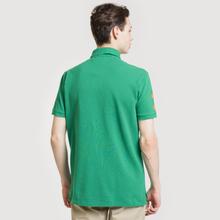 Мужское поло Polo Ralph Lauren Big Logo Embroidered And Patch 3 Custom Slim Fit Kayak Green фото- 3