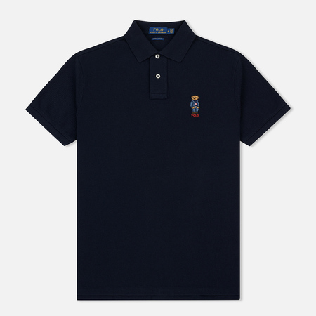 Мужское поло Polo Ralph Lauren Classic Fit Bear Basic Mesh Aviator Navy