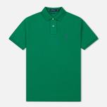 Мужское поло Polo Ralph Lauren Classic Logo Basic Mesh Billiard фото- 0