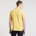 Мужское поло Polo Ralph Lauren Classic Logo Basic Mesh Fall Yellow фото- 3