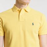 Мужское поло Polo Ralph Lauren Classic Logo Basic Mesh Fall Yellow фото- 2