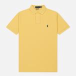 Мужское поло Polo Ralph Lauren Classic Logo Basic Mesh Fall Yellow фото- 0