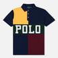 Мужское поло Polo Ralph Lauren Color Block Gold Bugle/Multicolor фото - 0