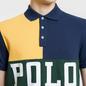 Мужское поло Polo Ralph Lauren Color Block Gold Bugle/Multicolor фото - 2
