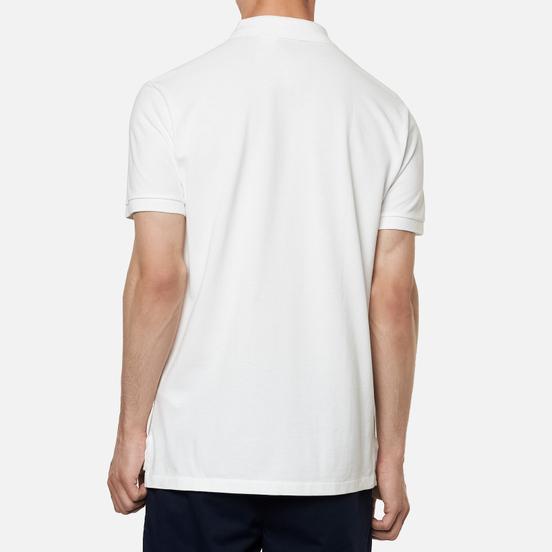 Мужское поло Polo Ralph Lauren Custom Slim Fit Cotton Mesh White