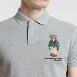 Мужское поло Polo Ralph Lauren Different Logo Bear Andover Heather фото- 2