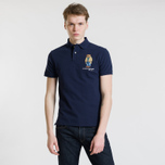 Мужское поло Polo Ralph Lauren Different Logo Bear Cruise Navy фото- 1
